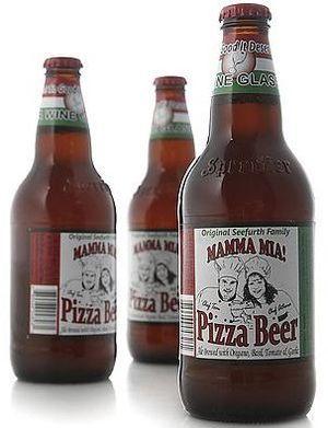 пиво пицца
