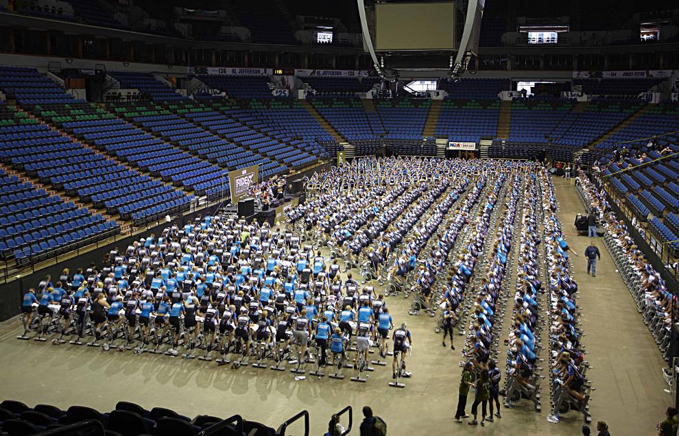 Life Time Fitness побил мировой рекорд, занесённый в Книгу Гиннеса по