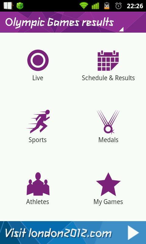 Олимпийские игры - 2012