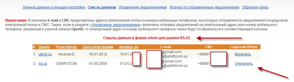 Видеообзоры как скрыть данные о владельце домена тут горячо